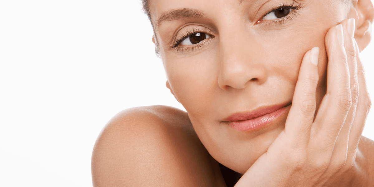 women with nice skin