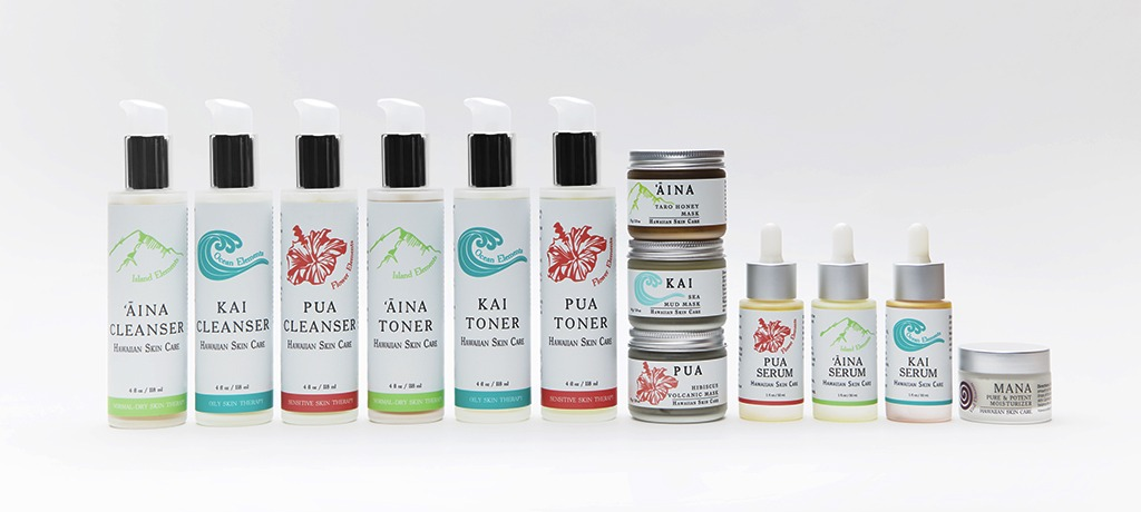 Ola Hawaiian skin care product line