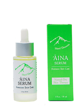 ʻĀina Serum. Hawaiian skin care
