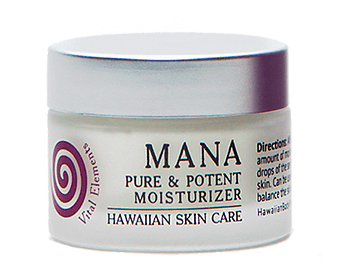 Mana Hawaiian skin care product