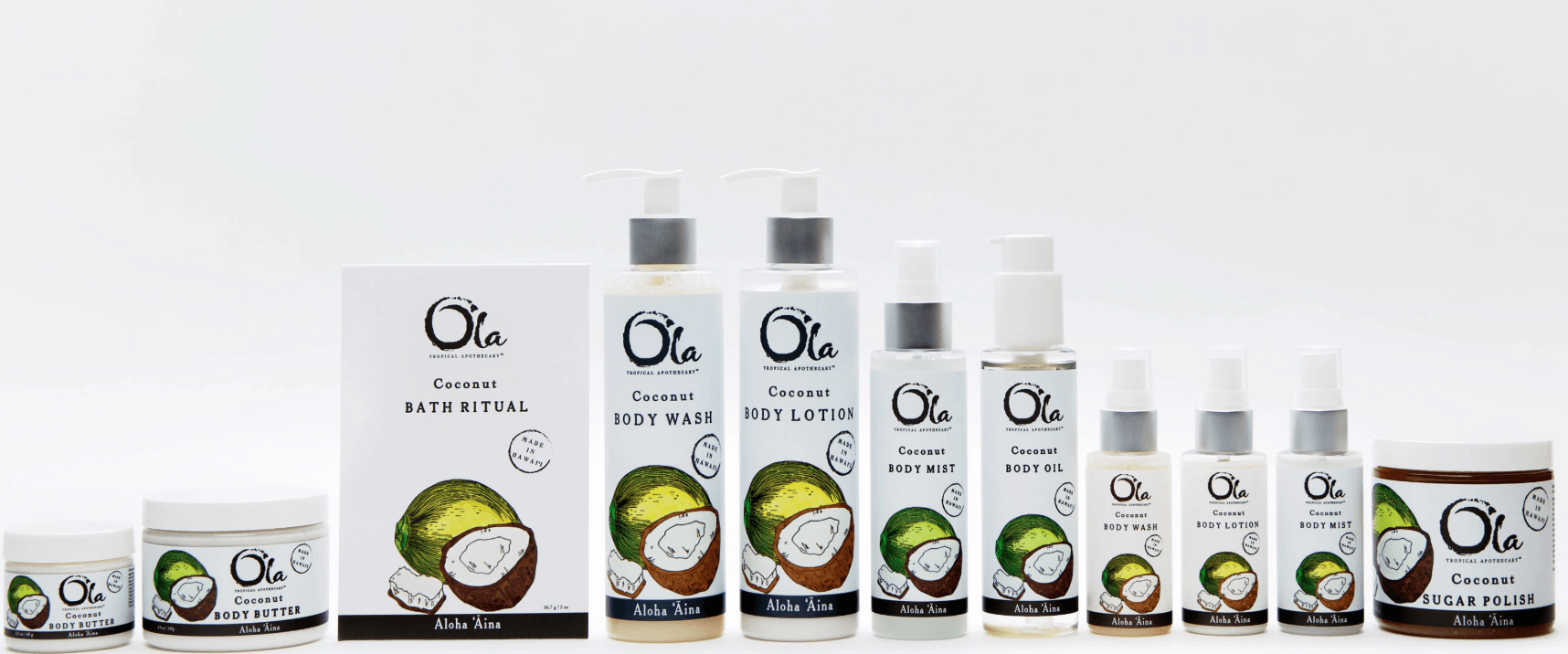 Ola coconut product line