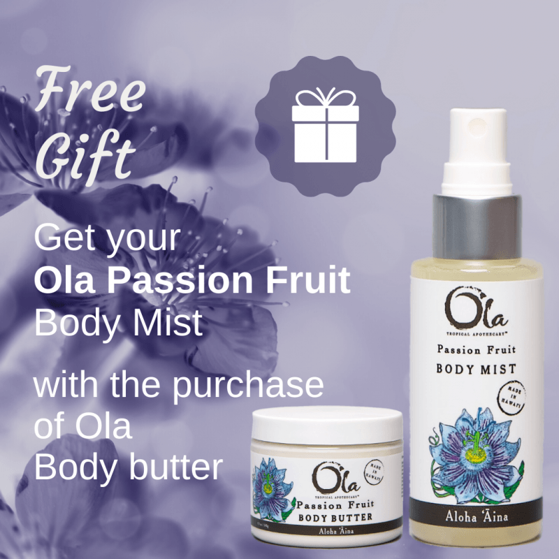 Free Ola gift with body butter purchase